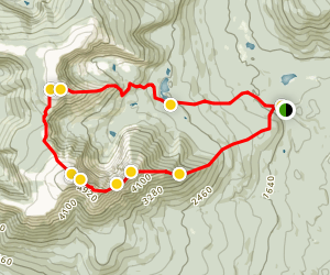 Mount Katahdin and Hamlin Peak Loop Map