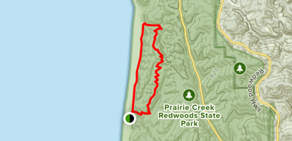 Friendship Ridge Trail to Davison Trail Loop Map