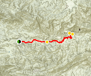 Sespe River Trail to Willett Hot Springs (CLOSED) Map