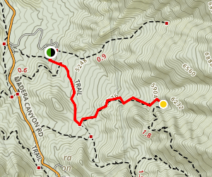 Bog Springs Trail Map