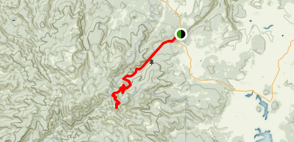 Mount Baldy Trail (West Baldy) Map