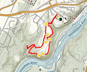 Murphy-Chambers Farm Loop Trail Map