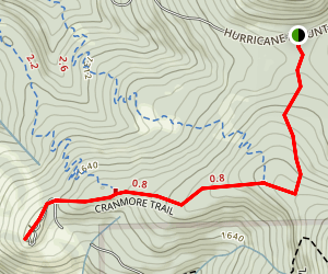Cranmore Mountain Map
