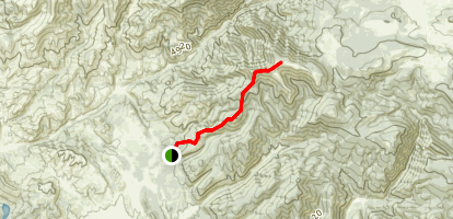 Hogback Mountain Map