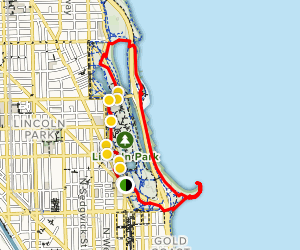 Lincoln Park Trail Map