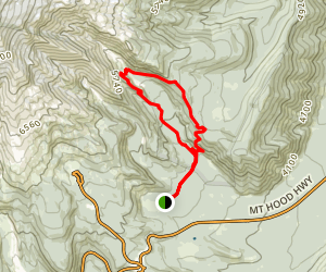 Elk Meadows Loop Trail Map