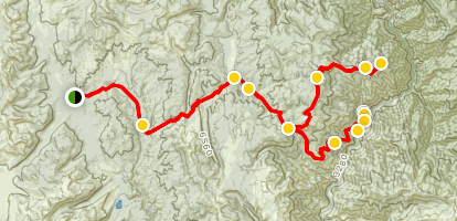Smith Knob Hettinger Ranch Trail Map