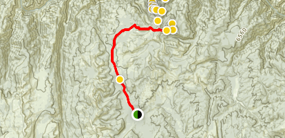 Salmon River Mines Trail Map