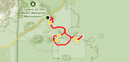 Craters of the Moon Bike Loop - Idaho | AllTrails