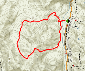 Lougher Loop Trail Map