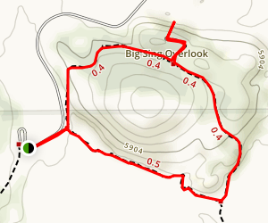 Broken Top Loop Trail Map