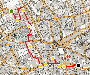 Bloomsbury Walking Tour Map