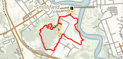 Windsor Castle Park Trail Map
