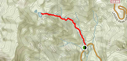 Ridge Lakes Trail Map