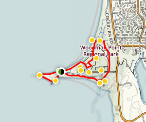 Woodman Point Regional Park Loop Map