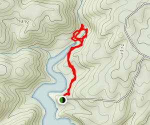 Tumbling Waters Trail Map