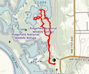 Ridgefield National Wildlife Refuge Map