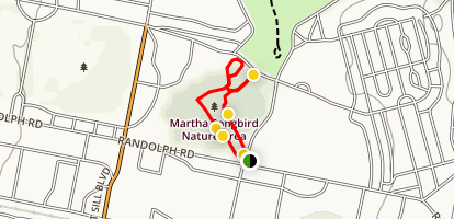 Martha Songbird Nature Trail Map