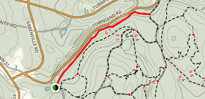 Willard Brook Trail Map