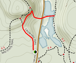 Crow Hills Trail Map
