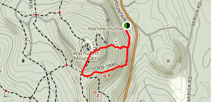 Pine Hill Trail Map