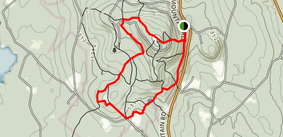 Wachusett Summit Loop Map