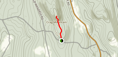 Mount Craig Trail Map