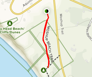 Moshup Beach Trail Map