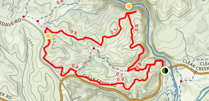Piety Hill Loop Map