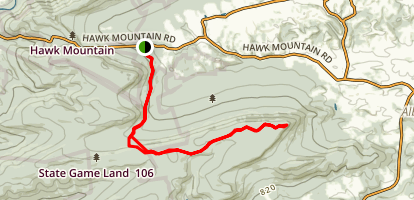 Appalachian Trail and Pinnacle Trail Map