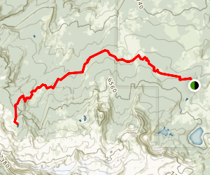 Park Meadow Trail to Golden Lake Map