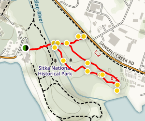 Russian Memorial Loop Trail Map