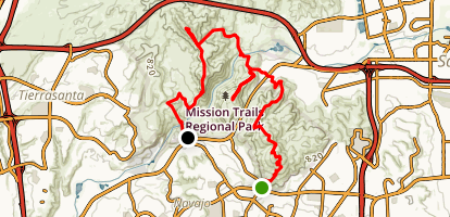 5 Peaks Shuttle Trail Map