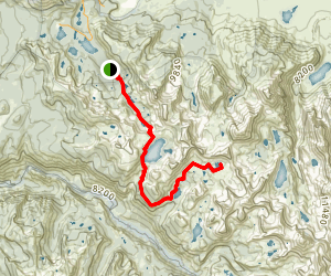 Ram Lake Trail Map