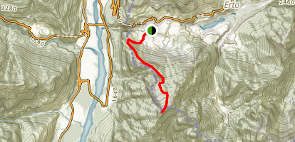 Monte TOC Trail Map