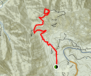 Sardine Peak Trail Map