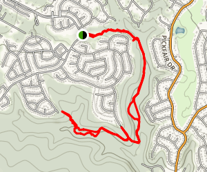 Trailhead Park Trail Map
