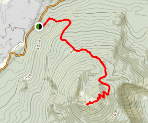 Black Crater Trail Map