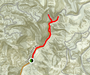 Golden and Silver Falls Map