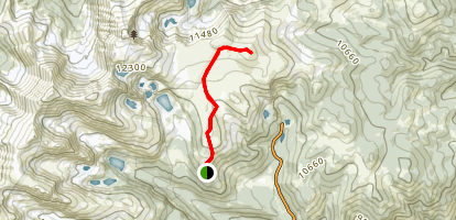 Kingston Peak Map