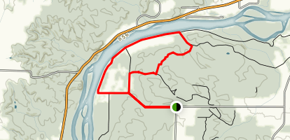 Lowden-Miller River Loop Trail Map