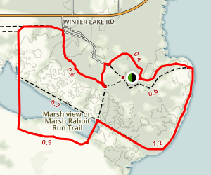 Circle B Bar Preserve Trail Map