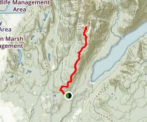 Alouette Mountain Trail Map