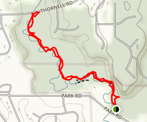 Irondequoit Creek Trail Map