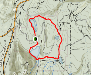 Four Lakes Trail Map