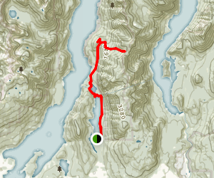 Dilly Dally Trail Map