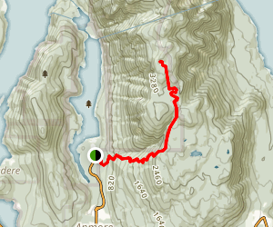 Lindsay Lake Trail Map