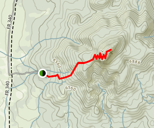 Red Butte Trail Map