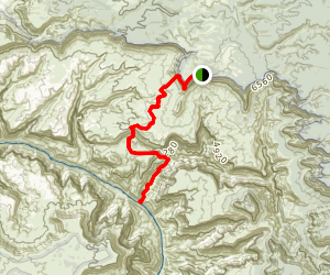 Thunder River and Tapeats Creek Trail Map