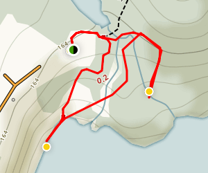 Tadoussac Dunes Trail Map